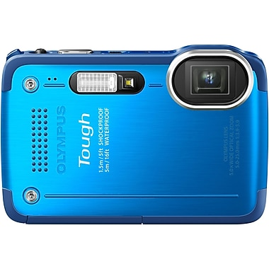 Olympus TG-630 iHS 12 Mega Pixels Digital Camera, Blue