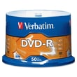Verbatim® 4.7GB 16X AZO DVD-R, Spindle, 50/Pack