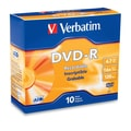 Verbatim® 4.7GB 16X AZO DVD-R, Slim Case, 10/Pack