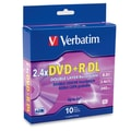 Verbatim® AZO™ 8.5GB Dual Layer DVD+R, Spindle, 10/Pack