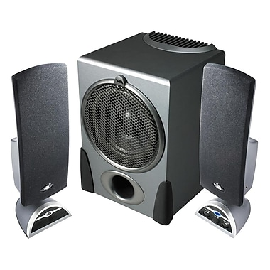 Cyber Acoustics CA-3550RB Flat Panel Design Speaker System