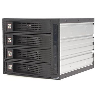 Startech®.com HSB430SATBK Mobile Rack Backplane, Black