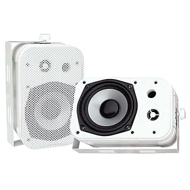 Pyleaudio® PDWR40 Indoor/Outdoor Waterproof Speakers, White