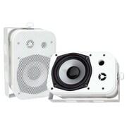 Pyleaudio® PDWR40 Indoor/Outdoor Waterproof Speakers, White