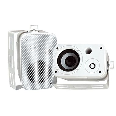 Pyleaudio® PDWR30 Indoor/Outdoor Waterproof Speaker, White