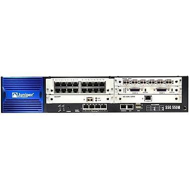 Juniper SSG 550M Series VPN Firewall Appliance, 600 Mbps Ipsec VPN peers