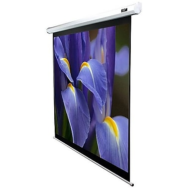Elite Screens® VMAX2 Series 121inch Electric Projection Screen, 16:9, White Casing