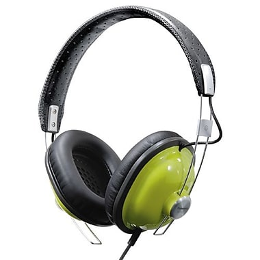 Panasonic RP-HTX7 Over-the-Head Headphone, Green