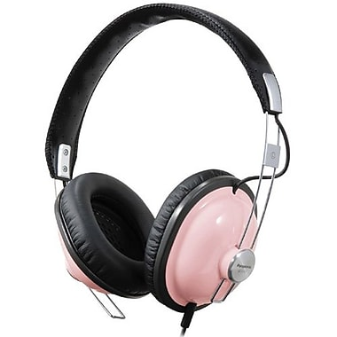 Panasonic RP-HTX7 Over-the-Head Headphone, Pink