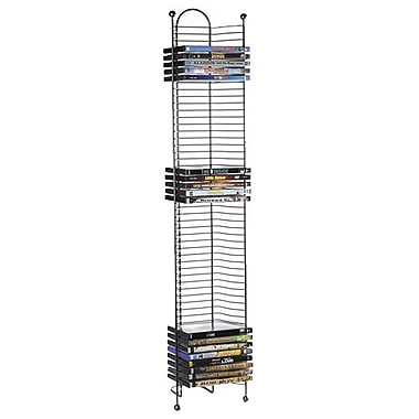 Atlantic 6371-2035 DVD Tower, Gunmetal