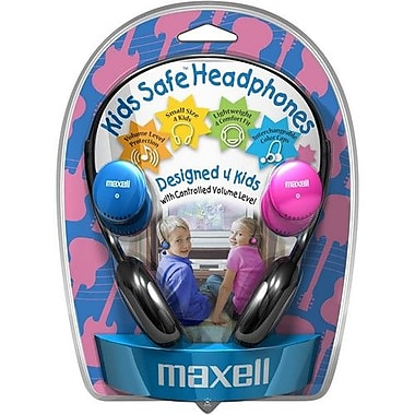 Maxell 190338 KHP-2 Kids Safe Over-the-Head Headphone