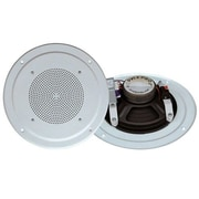 Pyleaudio® PDICS64 Full Range Speaker System With Transformer, White