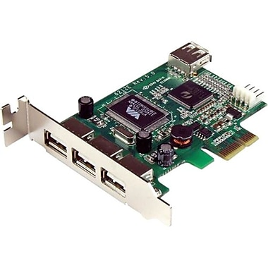 Startech.com®PEXUSB4DP High Speed USB Card
