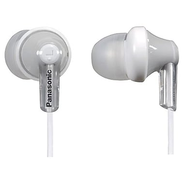 Panasonic RP-HJE120 In-Ear Earphone, Silver