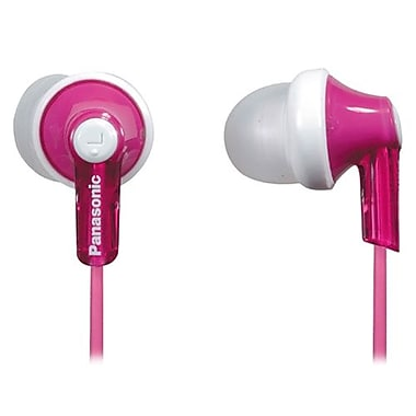Panasonic RP-HJE120 In-Ear Earphone, Pink