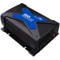 Whistler PRO-800W DC-to-AC Power Inverter, 12 VDC Input, 110 VAC Output, 2 Outlets