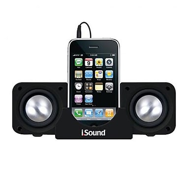 DreamGEAR® i.Sound® DGIPOD-1559 2X Portable Speaker System, Black