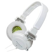 Panasonic RP-DJS400 Over-the-Head Headphone, White