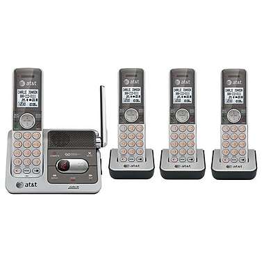 VTech® CL82401 AT&T Cordless Phone With Answering Machine, 50 Name/Number