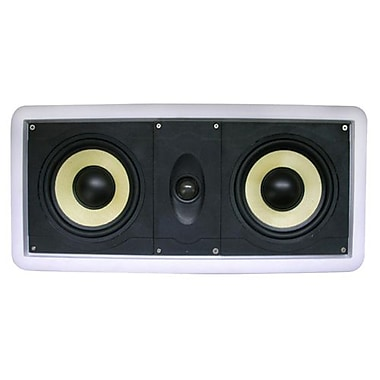 Azend CC-602KV 2-Way L/C/R In-Wall Speaker, White