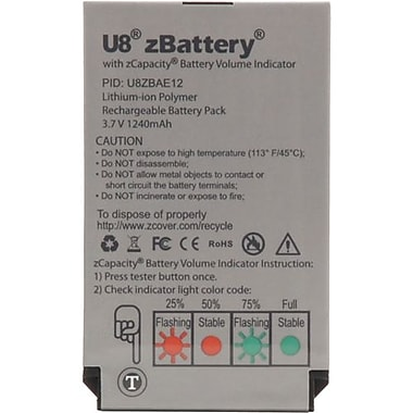 zCover U8ZBAE12 Lithium-ion Polymer Rechargeable Battery