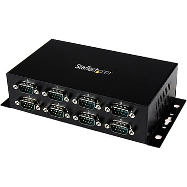 Startech.com® ICUSB 2328I USB to DB9 RS232 Serial Adapter Hub, 8 Ports