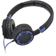 Gear Head® HQ4750 Dynamic Bass Stereo Over-the-Head Headphone With Noise Isolation, Blue