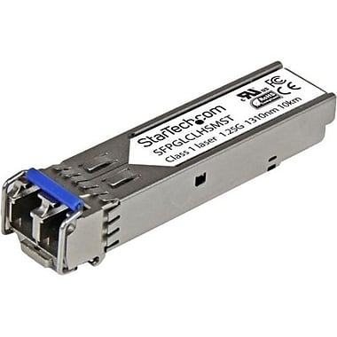 Startech®.com®SFPGLCLHSMST Cisco Compatible Gigabit Fiber SFP Transceiver Module