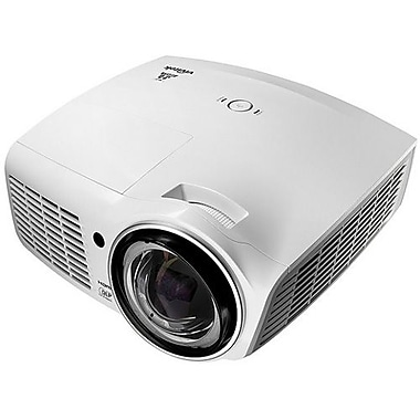 Vivitek® D871ST Short-Throw Multimedia Digital Projector, XGA, White