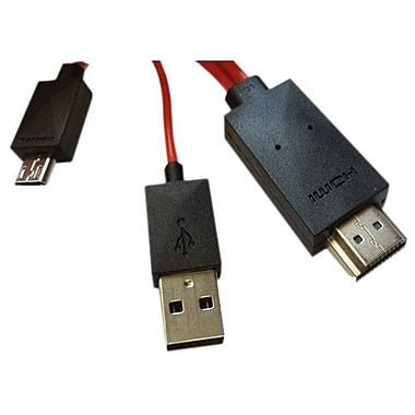 4XEM™ 6.56' A/V Cable For Samsung Galaxy S3