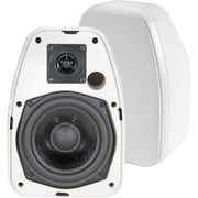 BIC America™ ADATTODV-52SI Indoor/Outdoor Speaker, White