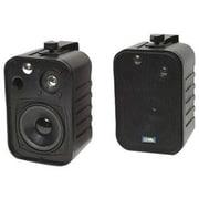 TIC® ASP-25 Patio Speakers, Black
