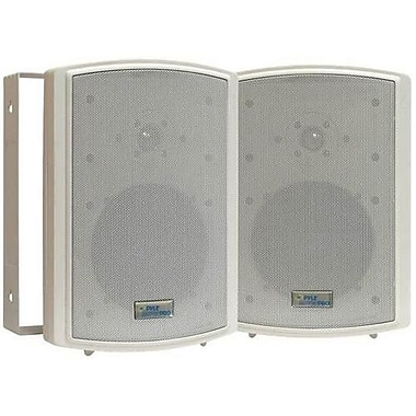 Pyleaudio® PD-WR6T Indoor/Outdoor Speaker Box With 70 V Transformer, White
