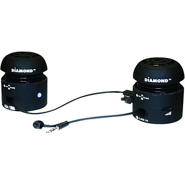 Diamond MSP100 Mini-Rockers Speaker, Black