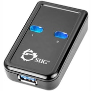 Siig® JU-SW0012-S1 3' USB 3.0 2-to-1 Switch, 3 Ports