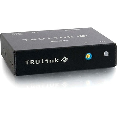 C2G TruLink® 1.5m VGA over Cat5 Box Receiver, Black/Blue