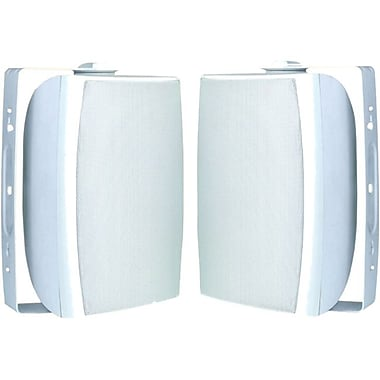 Azend OS-550 2-Way Indoor/Outdoor Speakers, White