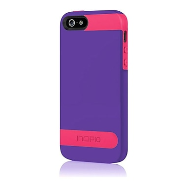Incipio® Hard Shell Molded Case for Apple iPhone 5, Royal Purple/Cherry Blossom Pink