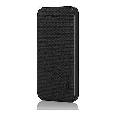 Incipio® Hard-Shell Folio Case for Apple iPhone 5, Obsidian Black