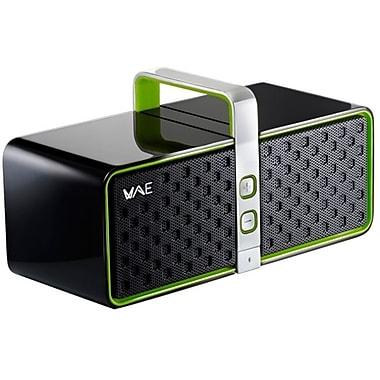 Guillemot Hercules 4769193 BT03 2.0 Bluetooth Wireless Speaker, Black/Green