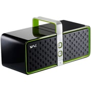 Guillemot Hercules 4769193 BT03 2.0 Bluetooth Wireless Speaker, Black/Green