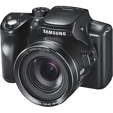 Samsung WB2100s Digital Camera, 16.3 Mega Pixels, Red