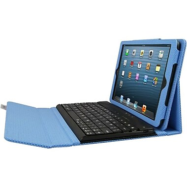 Ergoguys iPad Mini Case with Detachable Bluetooth Keyboard, Blue