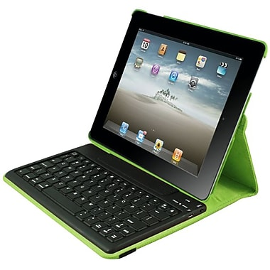2COOL 2C-RTCK03-LM Synthetic Leather Folio Case for Apple iPad 2, Lime