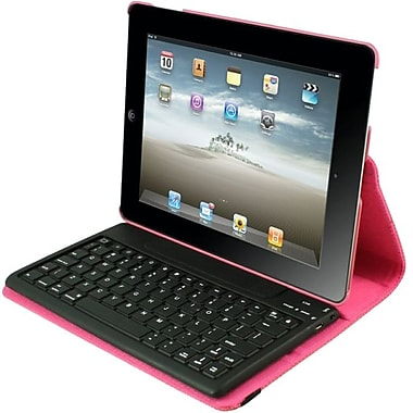 2COOL 2C-RTCK03-PNK Synthetic Leather Folio Case for Apple iPad 2, Pink