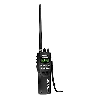 Cobra® HH 38 WX ST Hand Held CB Radio with Weather and SoundTracker, 40 CB Channels