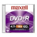 Maxell 4.7GB DVD+R, Jewel Case