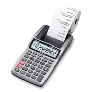 Casio® HR8TM 12 Digits Display Portable Desktop Printing Calculator