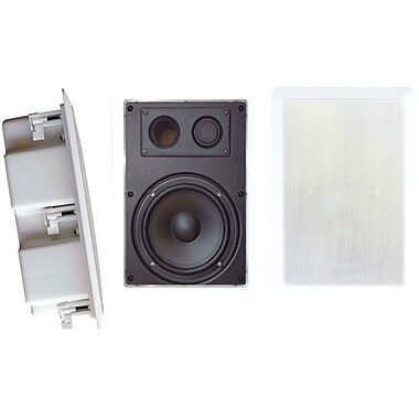 Pyleaudio® PDIW57 2-Way In Wall Enclosed Speaker System With Directional Tweeter