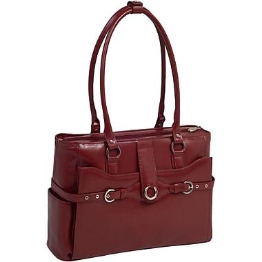 McKlein Roseville 15.4inch Ladies' Briefcase, Red